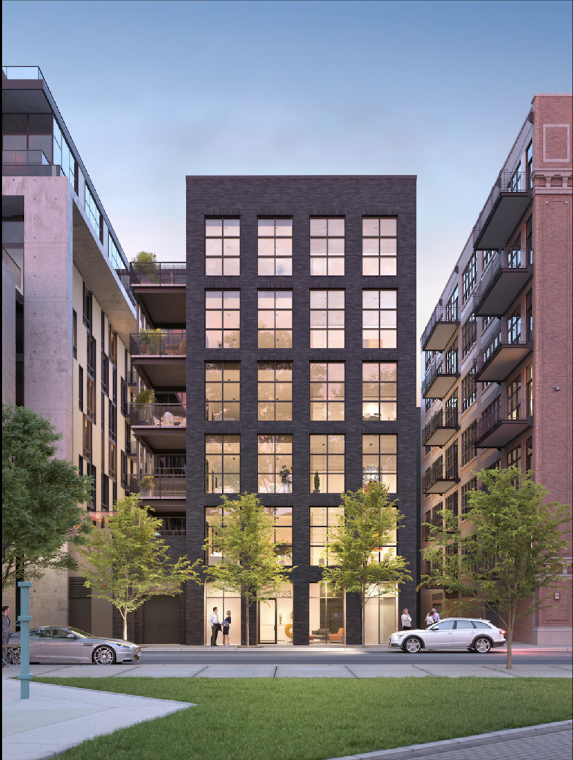 Peoria Green, on Mary Bartelme Park in the West Loop, is delivering homes never before seen in the c