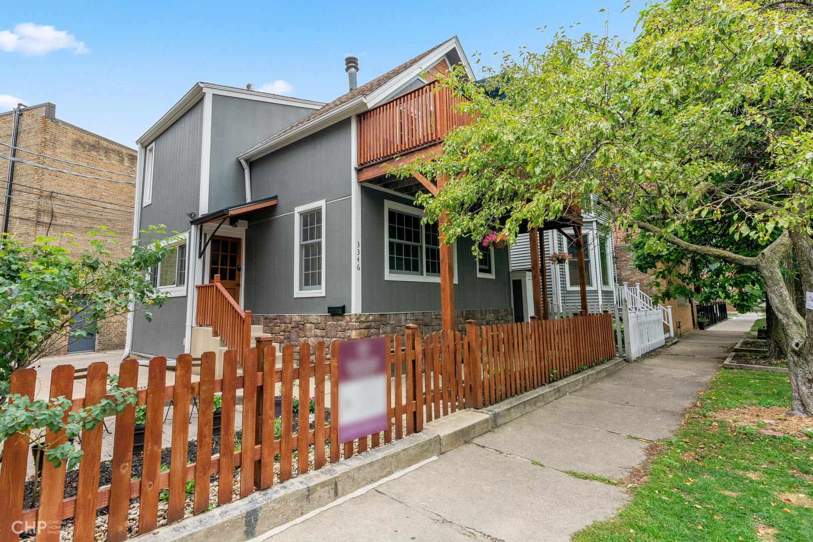 Location, - this charming 3 bed up home sits in the heart of roscoe village.  Enjoy everything this