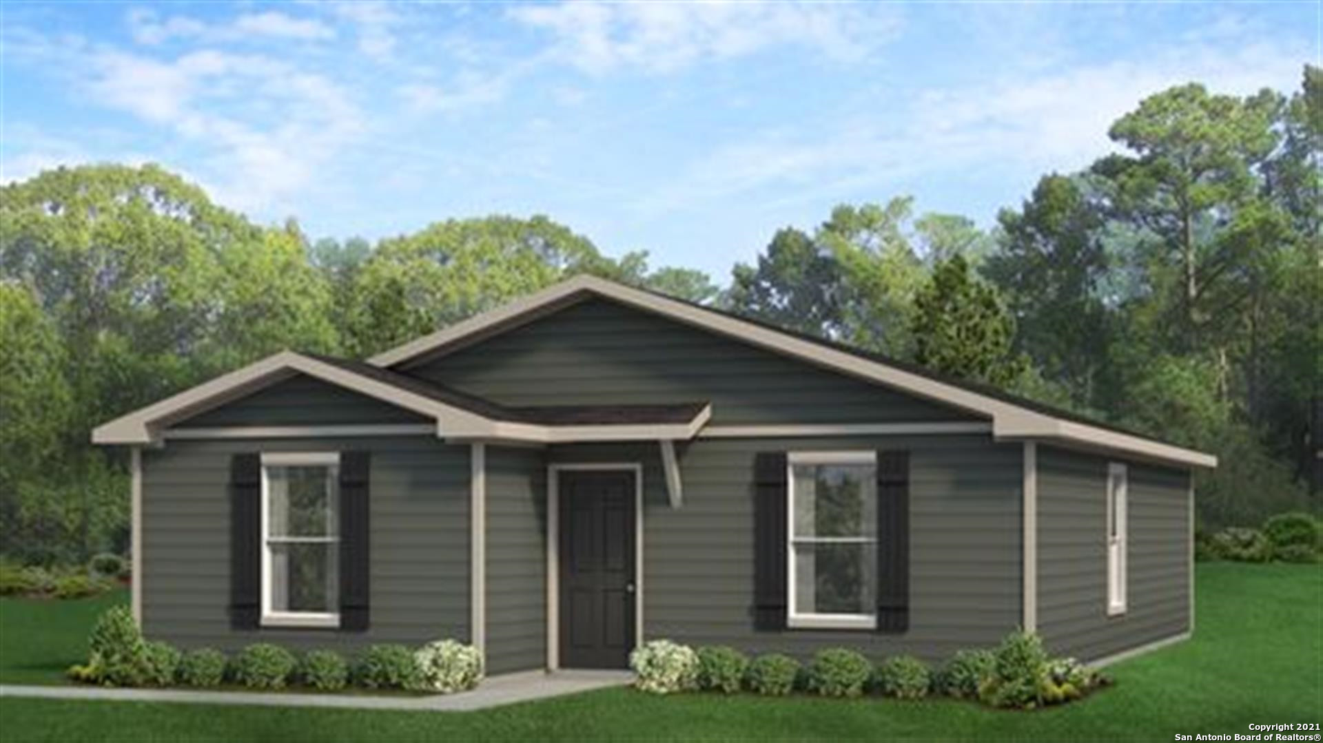 MLS# 1506348 - Built by Ameritex Homes - March completion! ~ 3 bedrooms; 2 bathrooms; two motion ext