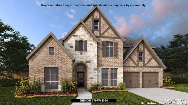 PERRY HOMES NEW CONSTRUCTION! Large porch area leads to a two-story entry with a 19-foot ceiling. Ho