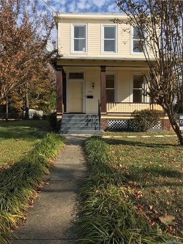 Welcome home to this charming renovated 2 story home located in Richmond's North Side.  The Interior