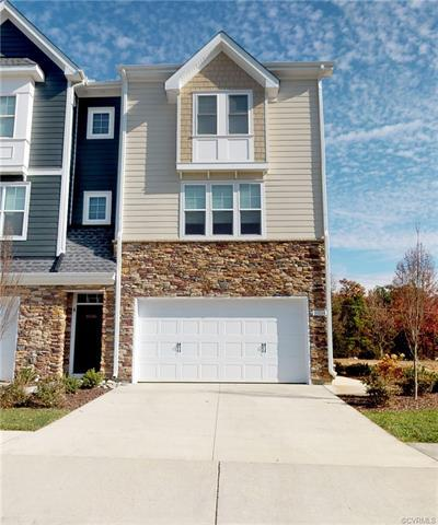 NEWER 4 BDRM 3.5 bath townhome in the Bedford Falls at Hickory Grove Subdivision in Henrico County i