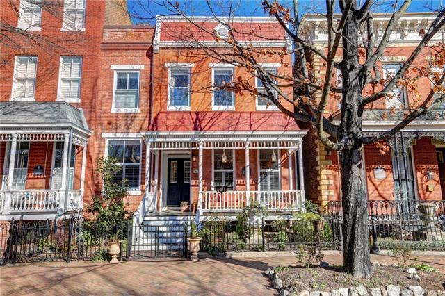 Wonderfully located in the heart of Historic Church Hill this completely renovated home is absolute