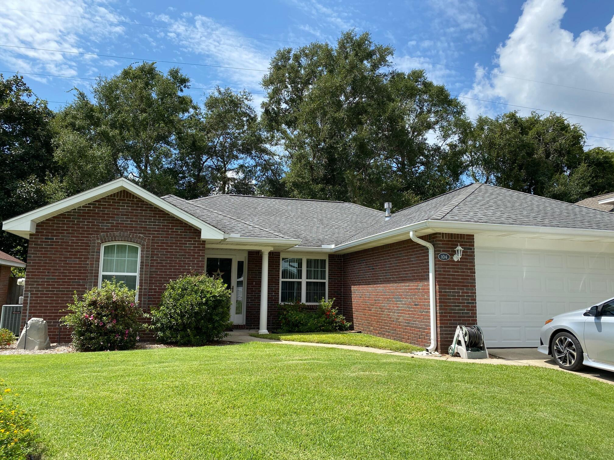 Incredible one owner Barton home. This all brick home is located in the heart of Niceville. Seller has updated this home with the following: Roof 2013, new fence 2014, HVAC 2010, HWH 2020, New folkers windows 2014, new garage door 2014, and new LVP flooring 2019.  Kitchen has been updated with corian countertops, and refaced cabinets. As well as the appliances were updated in 2010.  Randy Wise remodeled the Florida room with all new brick, windows and A/C. Out back you will see the incredible Oaks that adorn the backyard.  Sprinklers keep the yard green and extract storage shed in the back for all your storage needs.  Close to the schools, shopping, library,  childrens park, soccer fields and more. THis is a must see home!