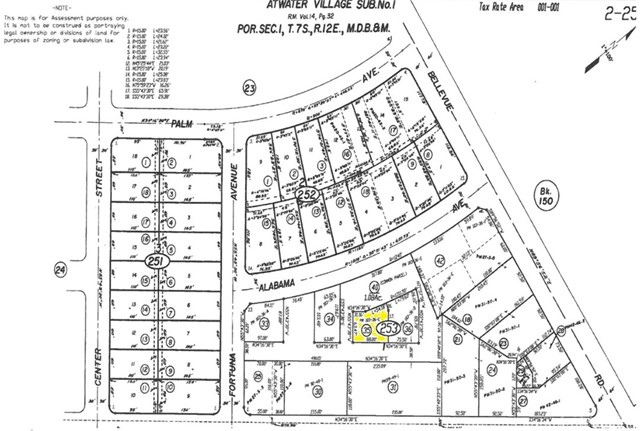 Ideal location for your commercial project. Zoning is C-G (General Commercial District) Check with City of Atwater for permitted uses. Lot has access to a shared parking lot.