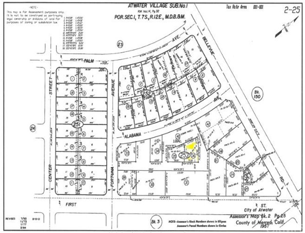 Ideal location for your commercial project. Property is zoned CG. Please check with City of Atwater planning dor potential uses. Lot has access to shared parking lot.