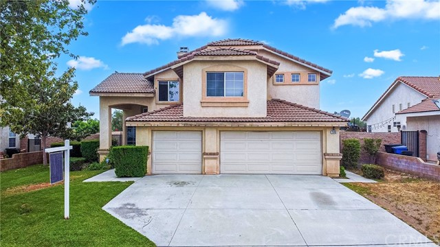 Tired of overpriced homes in Fontana? Look no further!  7648 Lemon St, is the BEST DEAL IN TOWN for the price!  Built in 2002! Mostly in original condition.  Bring some paint and make it your own!  ***3 CAR GARAGE***  Over 1,750 sq feet of living space with 4 bedrooms and 2.5 baths, this home sits on a 7,235 sqft lot.   Terrific entry level home,  features living room, family room, eating area, kitchen overlooking yard, lots of light, nice fireplace, central AC, ***PLENTY OF YARD SPACE in front and back***, PATIO on backyard, berber carpet upstairs, nice floorplan that easily connects with every room of the house, large master bedroom, with master bathroom, walk in closet,  and much much more!  Did I mention house comes with NEW Water Filtration System? This property is SOLD AS IS, but seller will pay for 1 Year of Home Warranty (Upgraded Coverage, American Home Shield)  and will come Free and Clear of Termites (Section#1 also paid by Seller) unless otherwise agreed.   Hurry, it will not last!