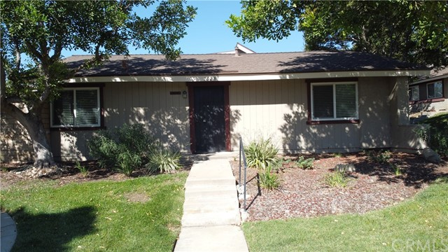 ***Welcome to your sought after Upland Knolls Community*** Single Story Corner PUD unit***Great opportunity to turn this open floor plan move in condition unit into your oasis***Dual Pane Vinyl Windows throughout***Roof replaced July 2016***Patio Block Wall***Enter into spacious bright living room leading to a great size dining room for entertainment***Sliding glass door with plantation shutters in dining room will take you to your good size patio***Generous size master bedroom with security bars on window features its own private bathroom with newer light fixtures***Great size guest bedroom with ton of natural light and closet space***Kitchen beaming with natural light and has a brand new garbage disposal and updated light fixtures***Individual laundry room adjacent to kitchen(which you can potentially add to kitchen) offers plenty of cabinets for storage***Direct access to your two car garage that has steel sectional Insulation for your convenience***Seller just had AC capacitor replaced and new high voltage wire installed to AC unit*** Enjoy the view of the great greenbelts and water fountain***Community has meticulously landscaped grounds, pool and clubhouse to enjoy***Associat