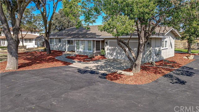 """3 Acre Ranchette W/Separate Office & Garage In North Merced Annexation Study.  This lovely home offers 4 bedrooms w/master bedroom retreat & over 2500 sq.ft. plus a fenced-in swimming pool.  Gas fireplace in the living room with floor-to-ceiling windows & french doors into the dining & large country kitchen area w/granite & tile countertops, island, hardwood flooring.  Formal dining and family room w/ceiling fan, carpet, crown molding & bay windows. You can relax on the back deck under the huge covered patio where there's always a nice breeze.  2 HVAC units & indoor laundry.  Finished 2 car garage.  The detached office/storage building w/drive-thru garage (800 Sq.Ft.) may be considered for an ADU (accessory dwelling unit) buyer to confirm with Merced County Building Dept. The addition & remodel was completed in 1999. This is a unique and rare gem of a property so close to UC Merced, hospital, shopping, restaurants, Merced Junior College, Merced Golf & Country Club & medical & professional offices as well. This is a """"Must See"""" property to fully appreciate this rare opportunity in the fastest-growing part of town."""