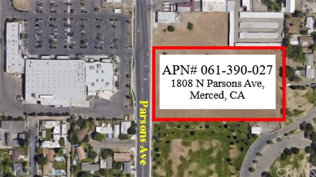 Approximately 4.59 Acres Zoned C-T Commercial Thoroughfare.  Just south of Yosemite Parkway / Highway 140 on Parsons Ave. Adjacent to La Playa Shopping Center (Rancho San Miguel Grocery Store).