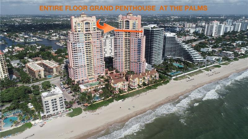 """""""SUNRISE TO SUNSET"""" ENTIRE FLOOR GRAND PENTHOUSE IN THE PALMS! NO NEXT DOOR NEIGHBORS! STUNNING 360"""