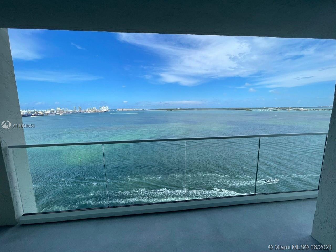 Breathtaking Direct Bay and Ocean Views from the 16th floor at the St. Louis Condo. Fantastic 2 bed