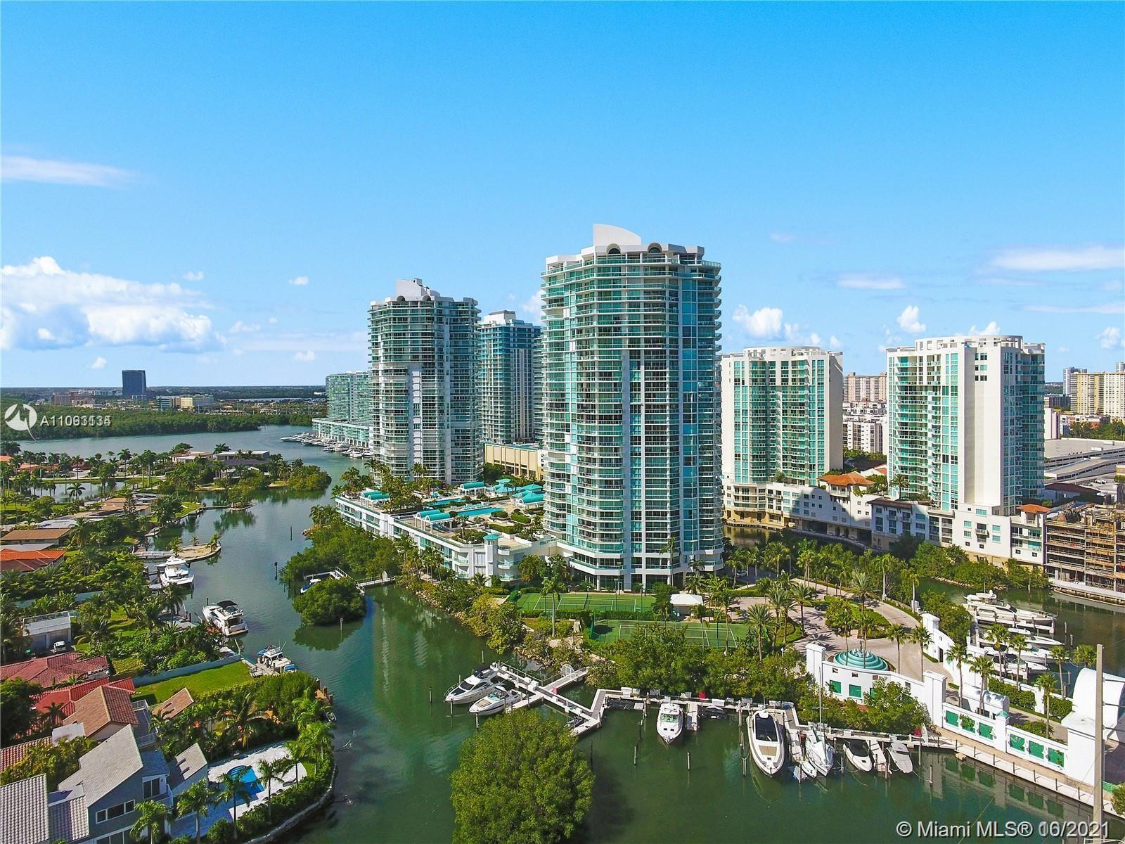 The largest unit in all Oceania towers! Two story PH-F penthouse with two huge wrap around balconies