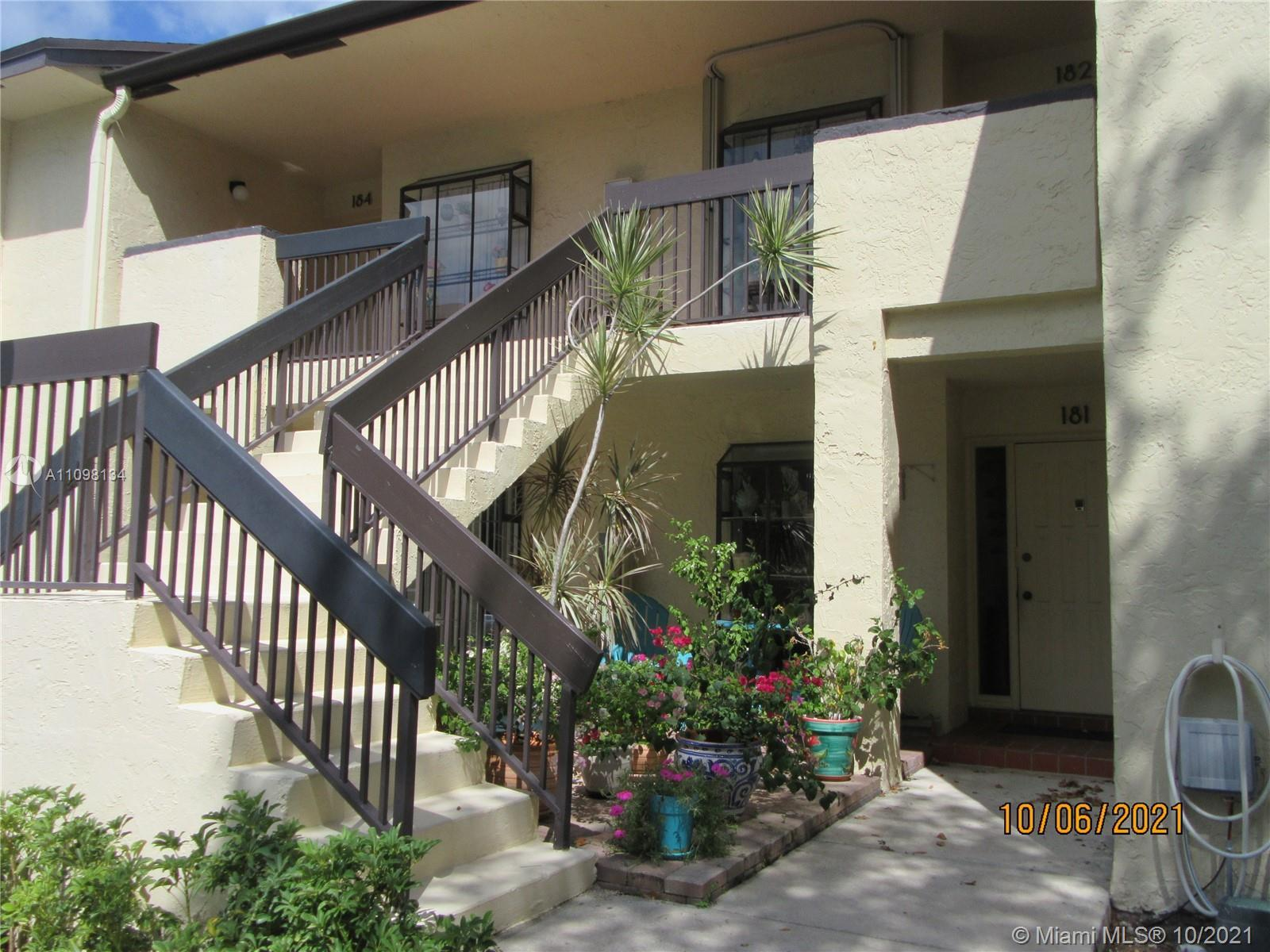 Rare 3 bedroom unit in this beautiful well maintained community. Won't last so call immediately. Man