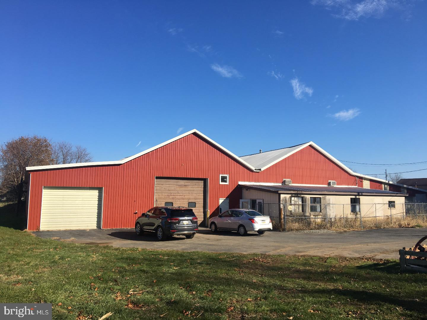 This property is situated on 2.1 acres with a 9,649 SF building with a mechanical car lift. It is an ideal property for storing and working on classic or vintage cars. Building can be divided into two spaces conveniently but possibly 3 spaces. This property must be seen to appreciate the layout of the space.