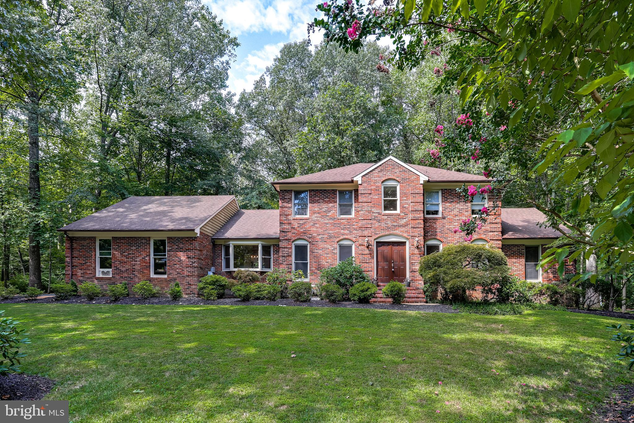 This stately brick Colonial has been lovingly maintained and partially renovated over the years. Thi
