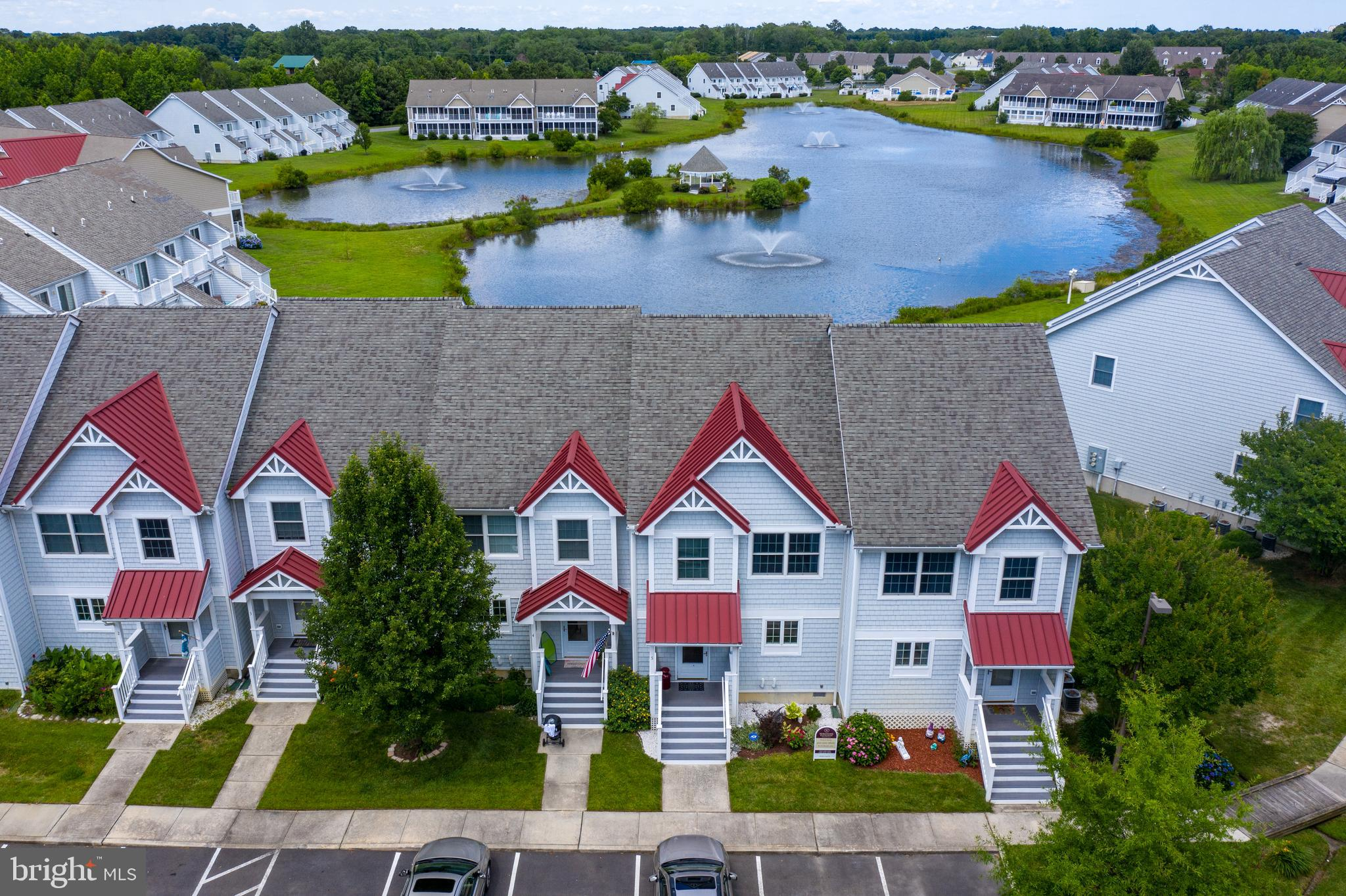 Fantastic 3 bedroom 2 1/2 bath townhome! Gorgeous pond view from your back deck! Open Floor Plan. Gas  fireplace!  Desirable West Ocean City location!  Community ammenites include indoor pool, outdoor pool, club house, fitness center, kids play area and tennis/basketball courts! Close to dining, shopping, golfing and the beaches of assateague island and ocean city, No city Taxes.  HOA fee includes water/sewer/trash/insurance and community amenities.  Great opportunity to own property in West Ocean City!