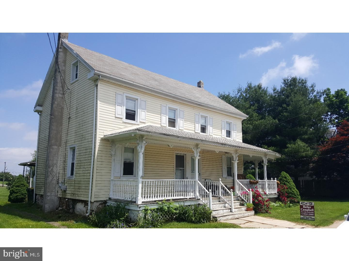 Great Investment Opportunity - short and long term.  Three unit rental house with 87' frontage on Route 41 in Cochranville, PA.  This property consists of one - 3 Bedroom Unit, one - 2 Bedroom Unit, and one - 1 Bedroom Unit.  Tenants pay all utilities.  Great cash flow! Also available is 175 Cochran Street MLS#7191126 adjacent to this property.