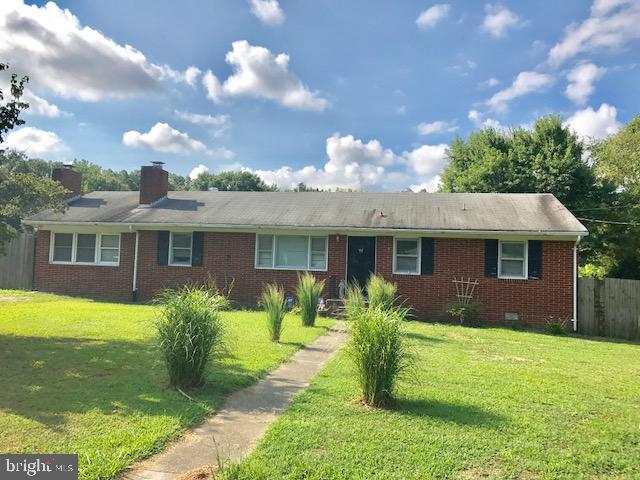 Well-built 3 Bedroom/1-1/2 Bath Brick Ranch with NEW ROOF & NEWLY PAINTED  on 1.69 Ac. with det. 1 B