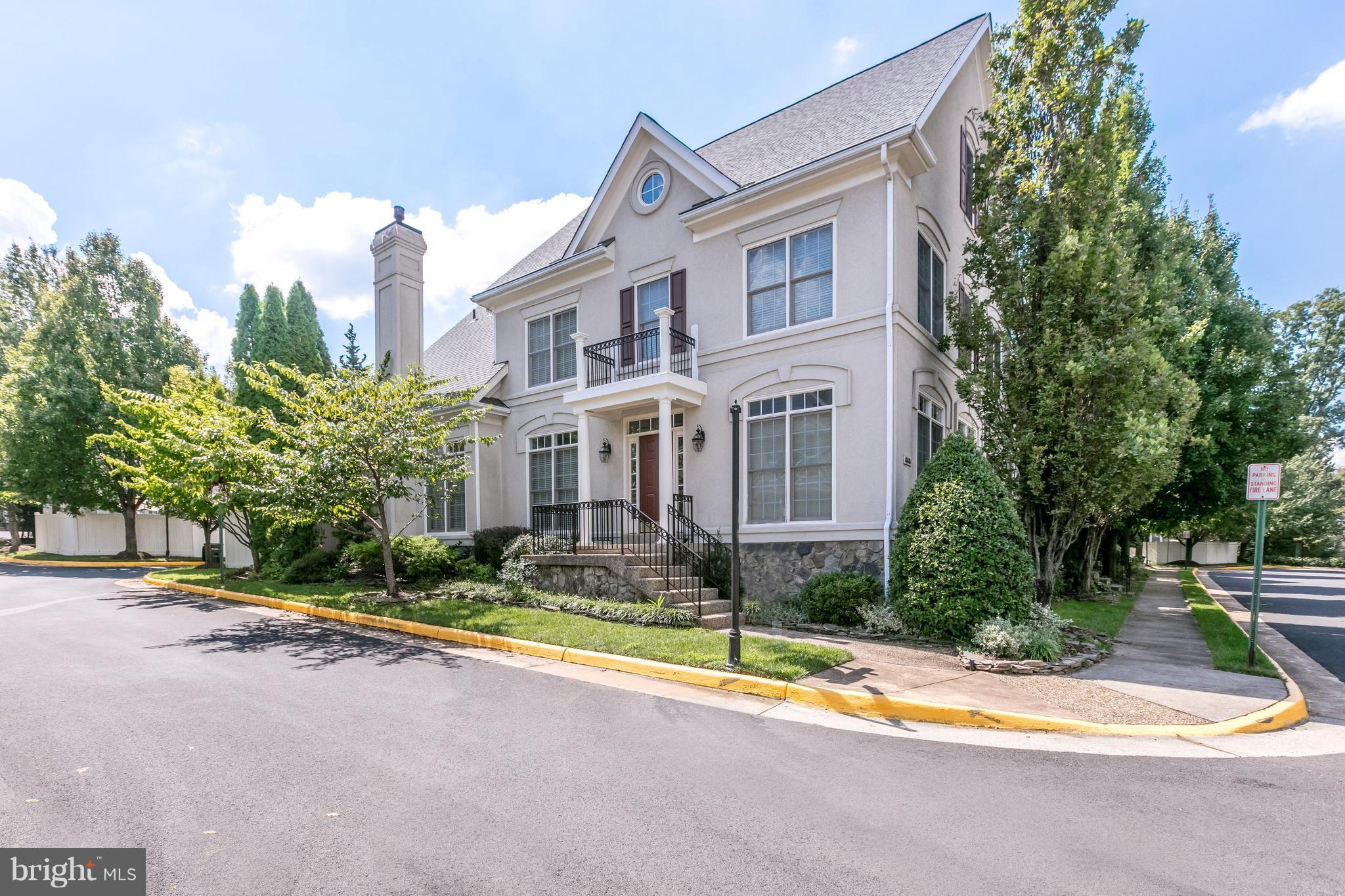 This planned community of luxury homes built on historic land once owned by Lord Fairfax is located a few blocks from Old Town Fairfax. A perfect blend of old world charm + contemporary living makes this one of the most desirable communities in Fairfax County.  Beautifully landscaped grounds, preserved common areas, walking trails, community pool. Connector bus at entrance. Minutes to 66 & Mosaic.