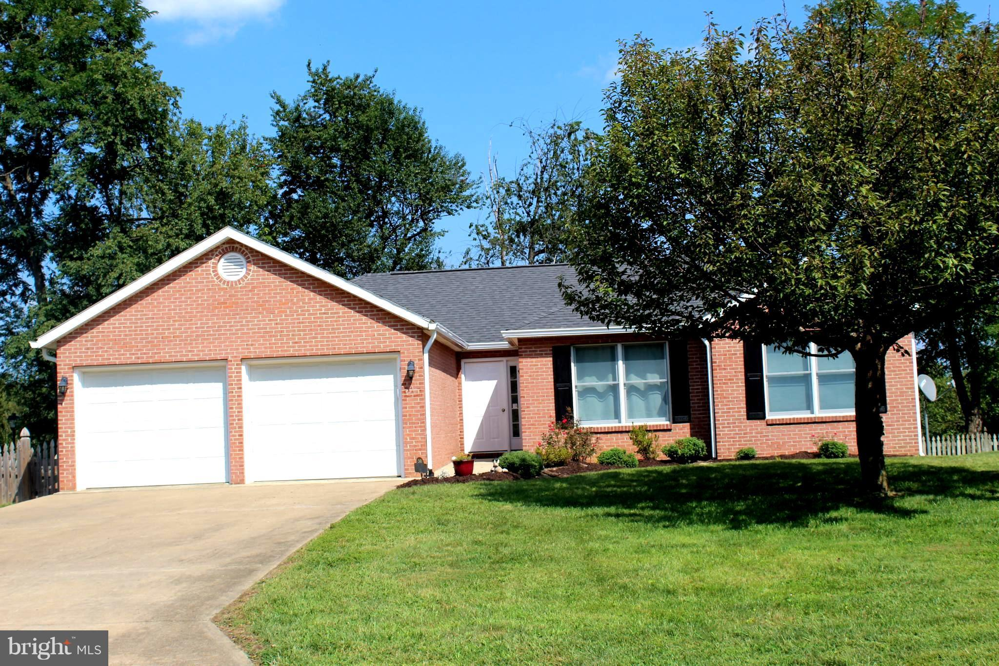 Well maintained & updated rancher on fenced corner lot w/large deck & poured walls. 4 BRs (2 are MBR