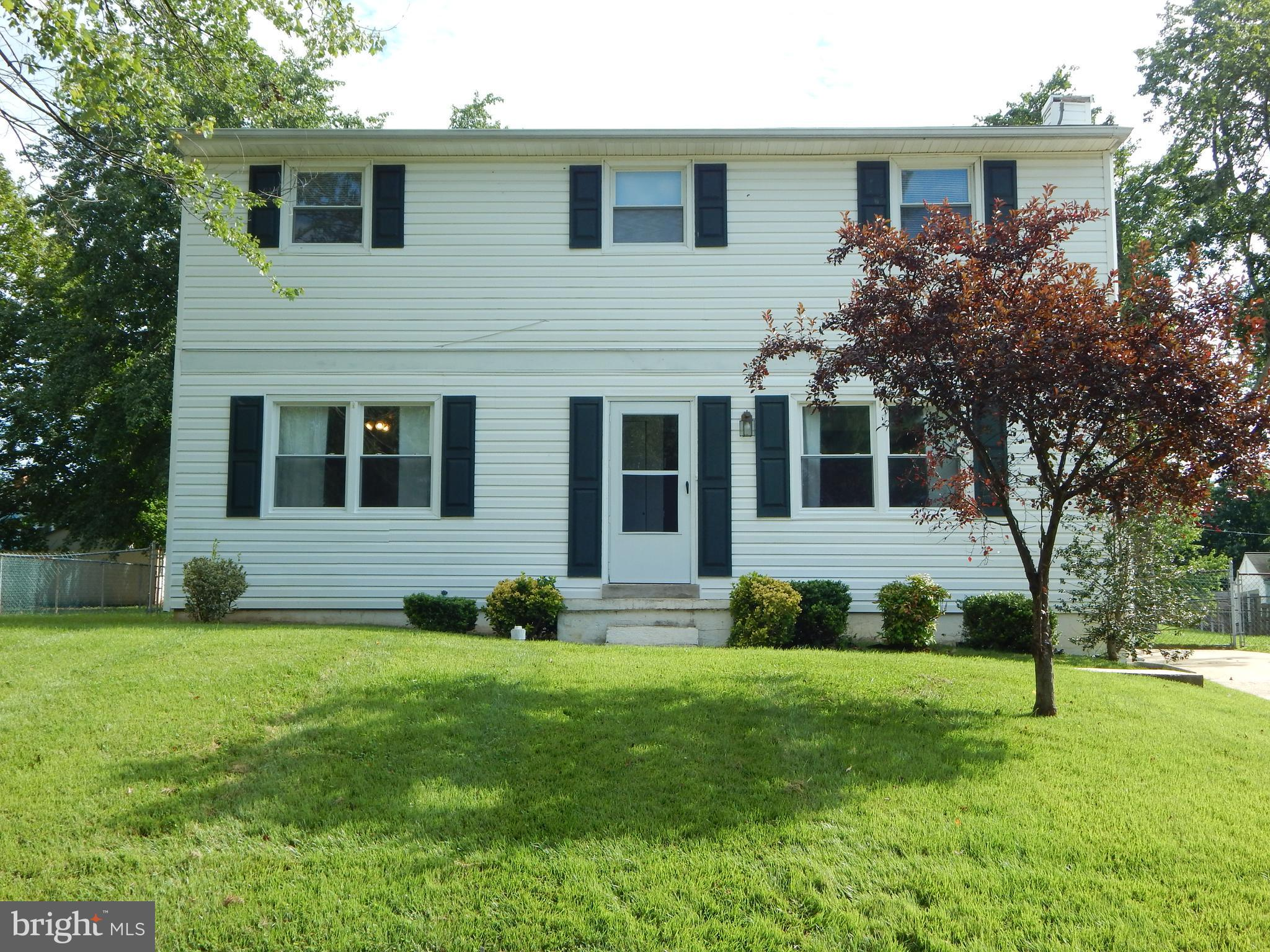 Nice colonial offers full length back deck that overlooks the in-ground pool! There is a formal livi