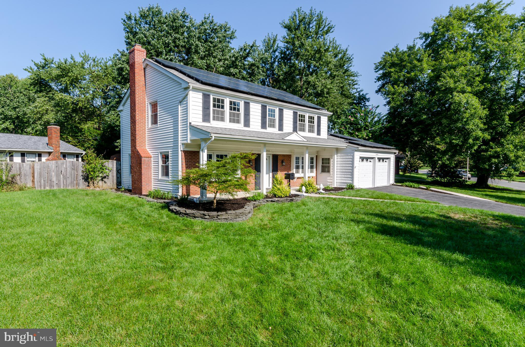 Just Listed 9/20! This STUNNING colonial in the heart of Bowie is a gem!  Boasting prestigious White