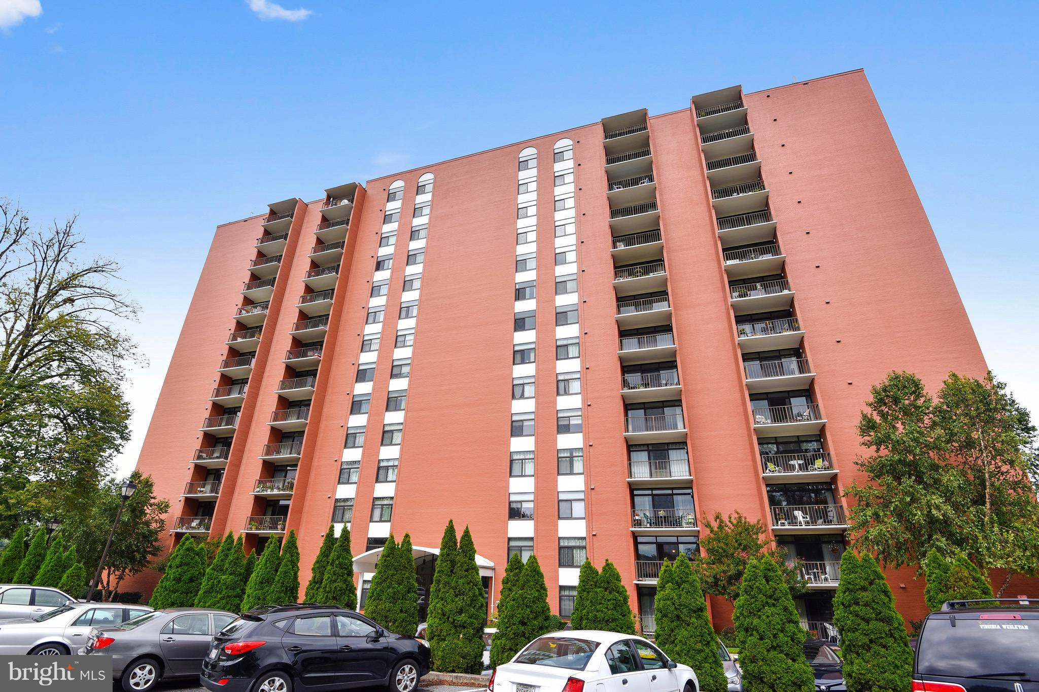 Desirable Dulaney Towers spacious two bedroom/two bath condo located in a gated community with 24 ho