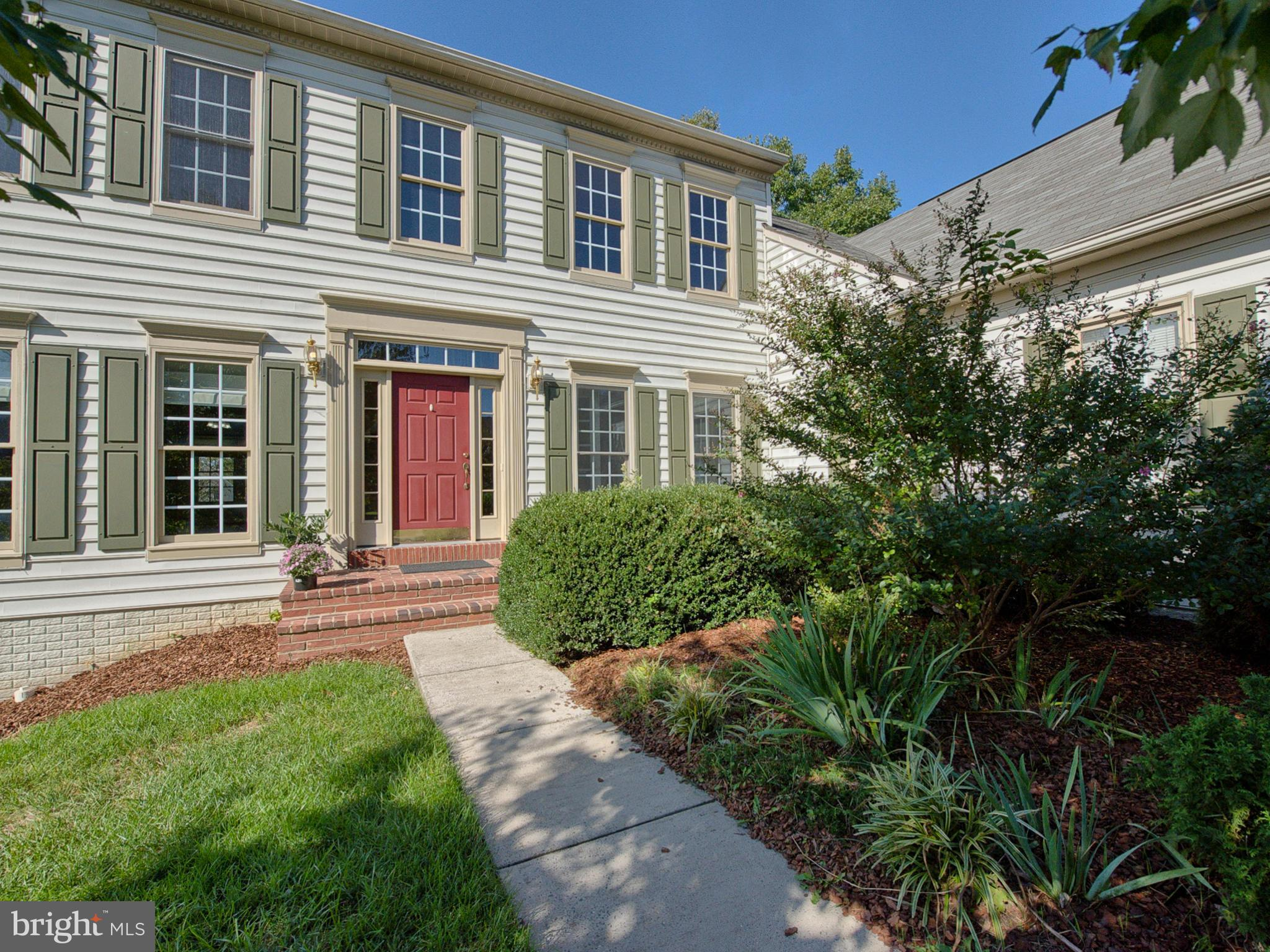Stunning Colonial in well planned Spring Ridge neighborhood.  This home shows like a model and offer