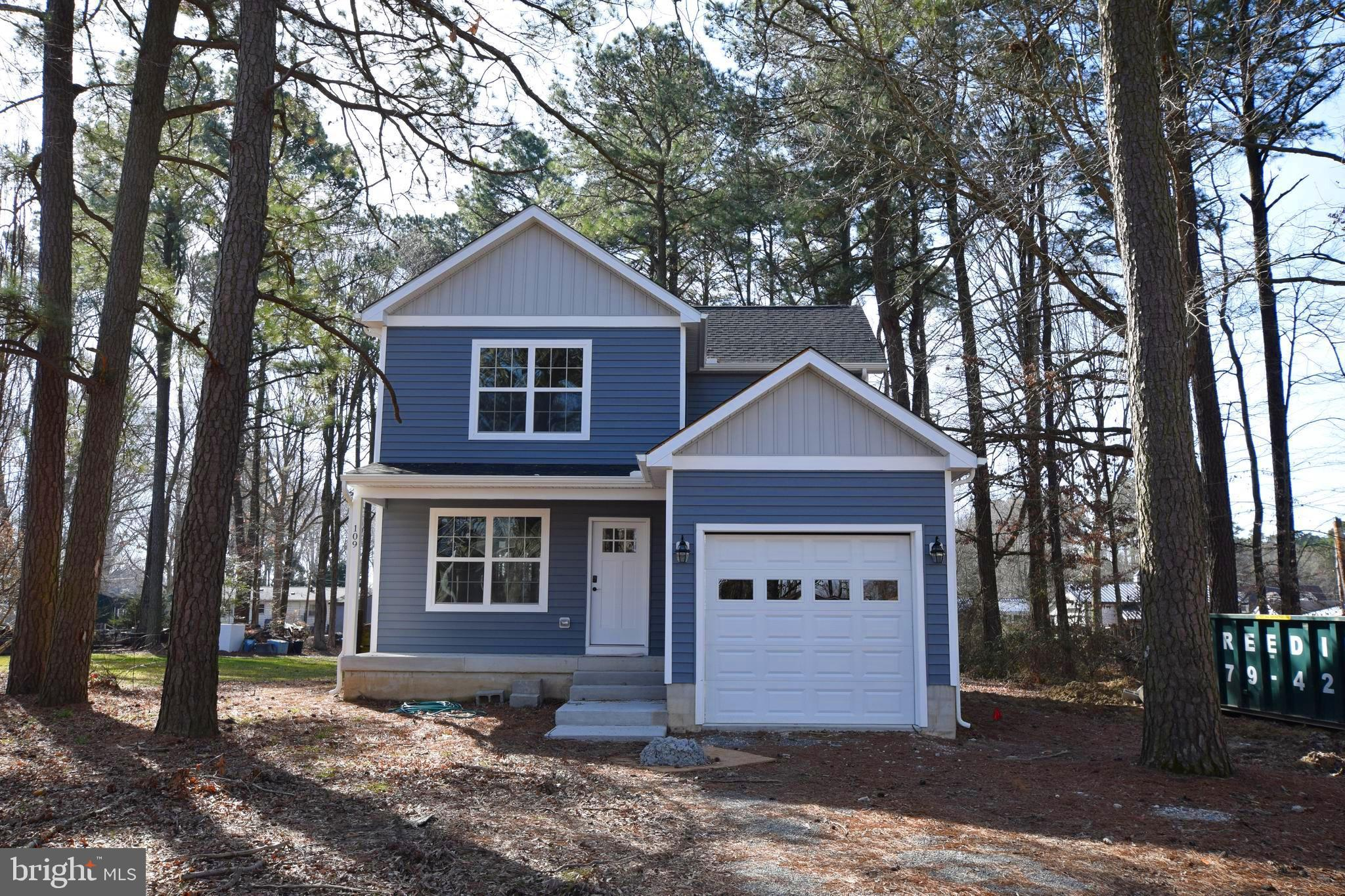 Beautiful new construction in Grasonville. 3 BR. 2.5 BA. Can be completed in 30-45 days.  Master Bed