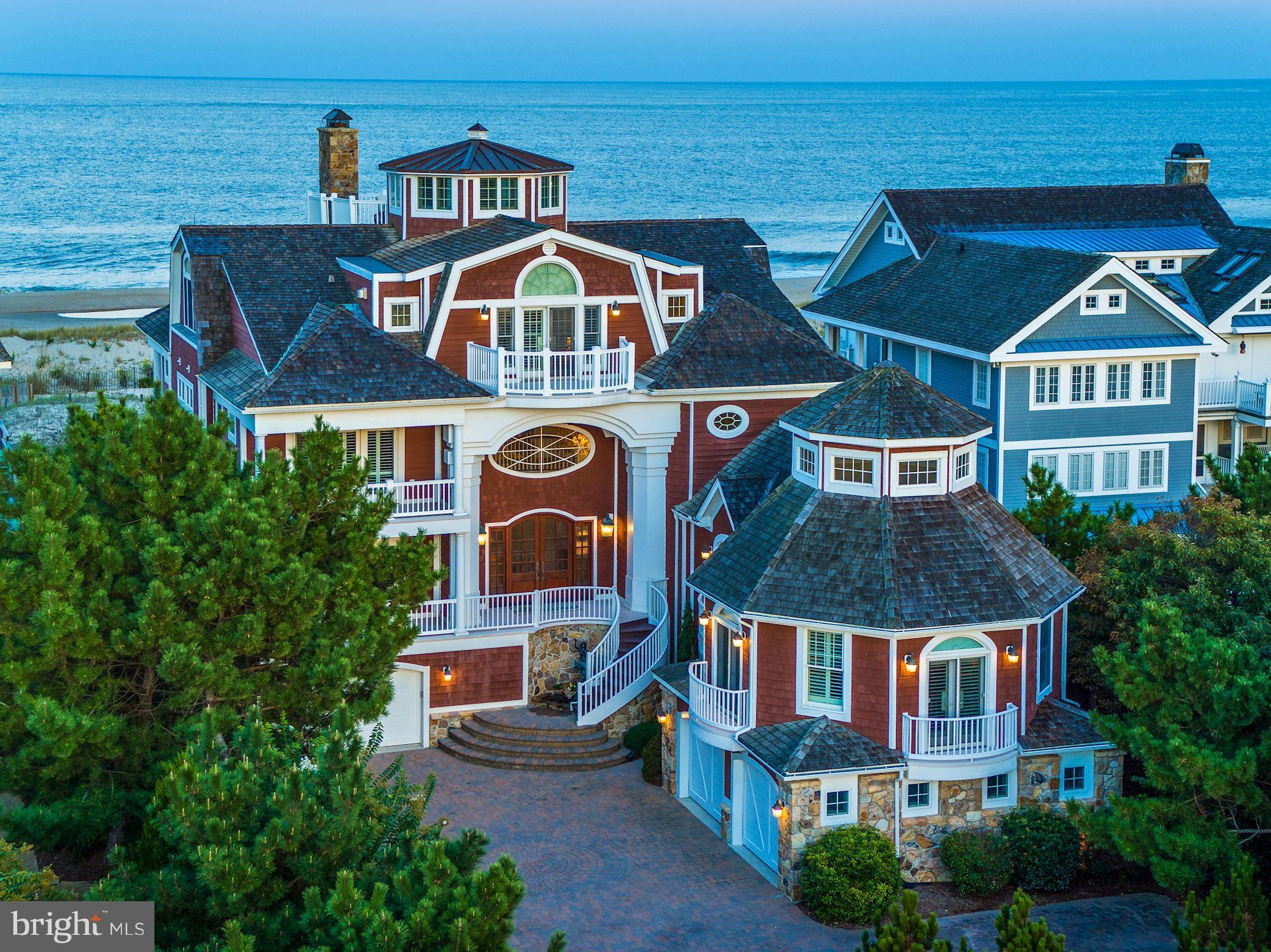 One could describe this exquisite Rehoboth Beach home with its one of a kind location, as a majestic