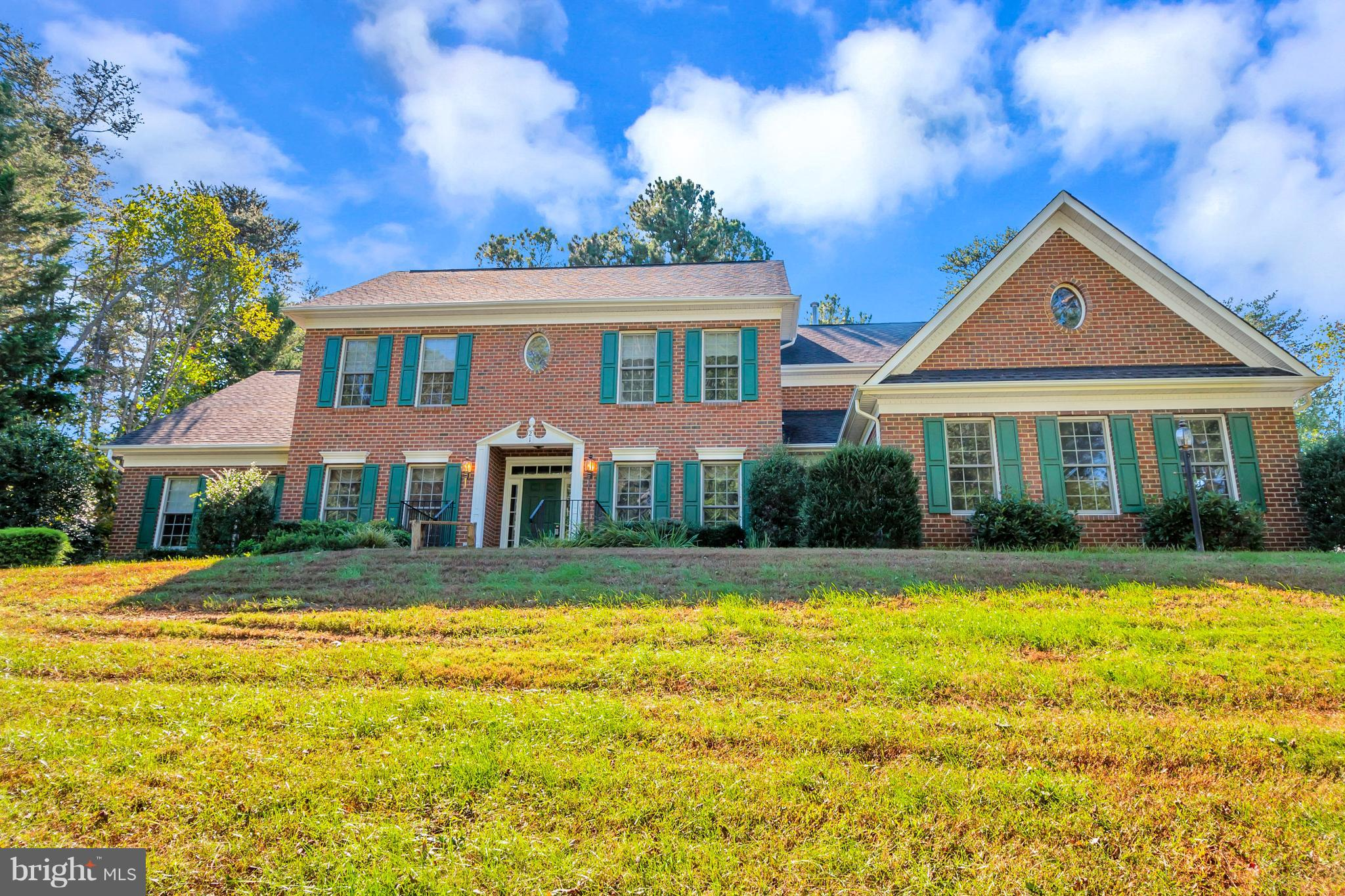 Located in Premier equestrian community of Stafford, abundantly spacious colonial is tucked away on