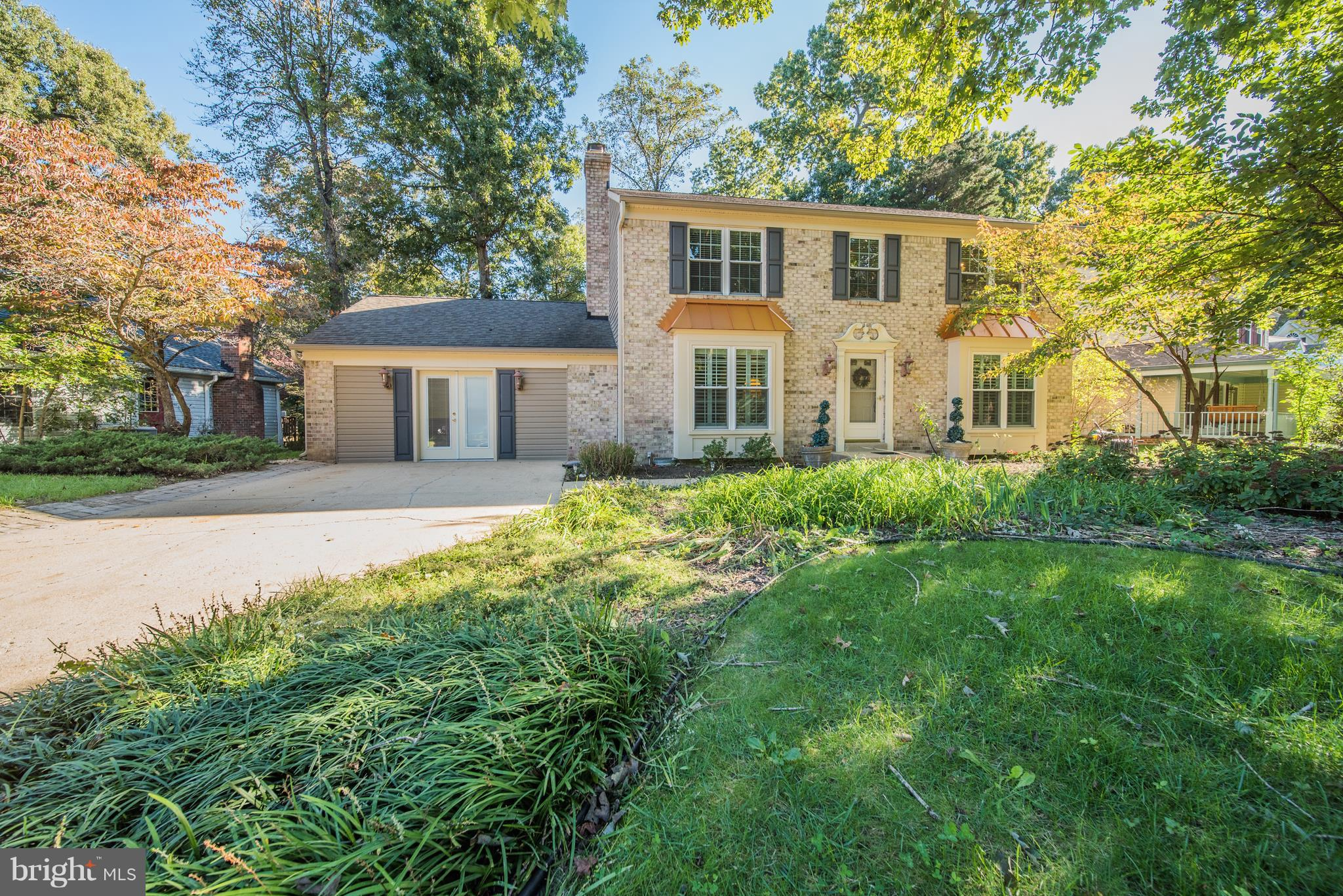 Beautiful Brick Front Colonial, Windows replaced 4 years ago, HVAC replaced 2 years ago.  Two family