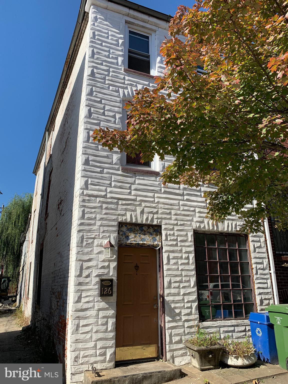 Great opportunity to own this charming home located walking distance from the B&O railroad museum and Hollins Market!  2300+ sq. ft. of living space. Hardwood floors, exposed brick, room for a roof top deck, make this home your dream home. Close to schools, shopping and transportation.