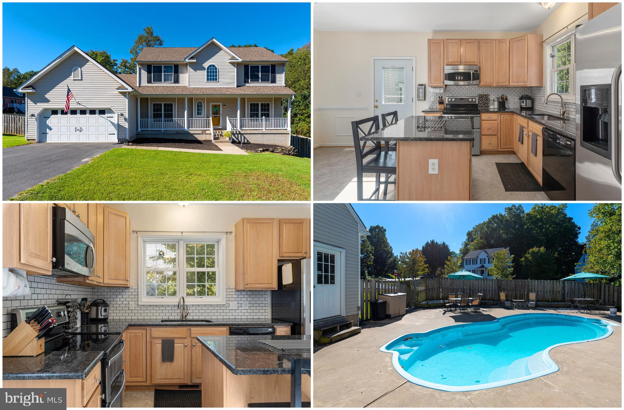 5 BR, 3.5 BA MINS FROM CENTRAL PARK/I-95! HUGE CONCRETE PATIO W/ IN-GROUND POOL, BACKYARD W/ WOODED