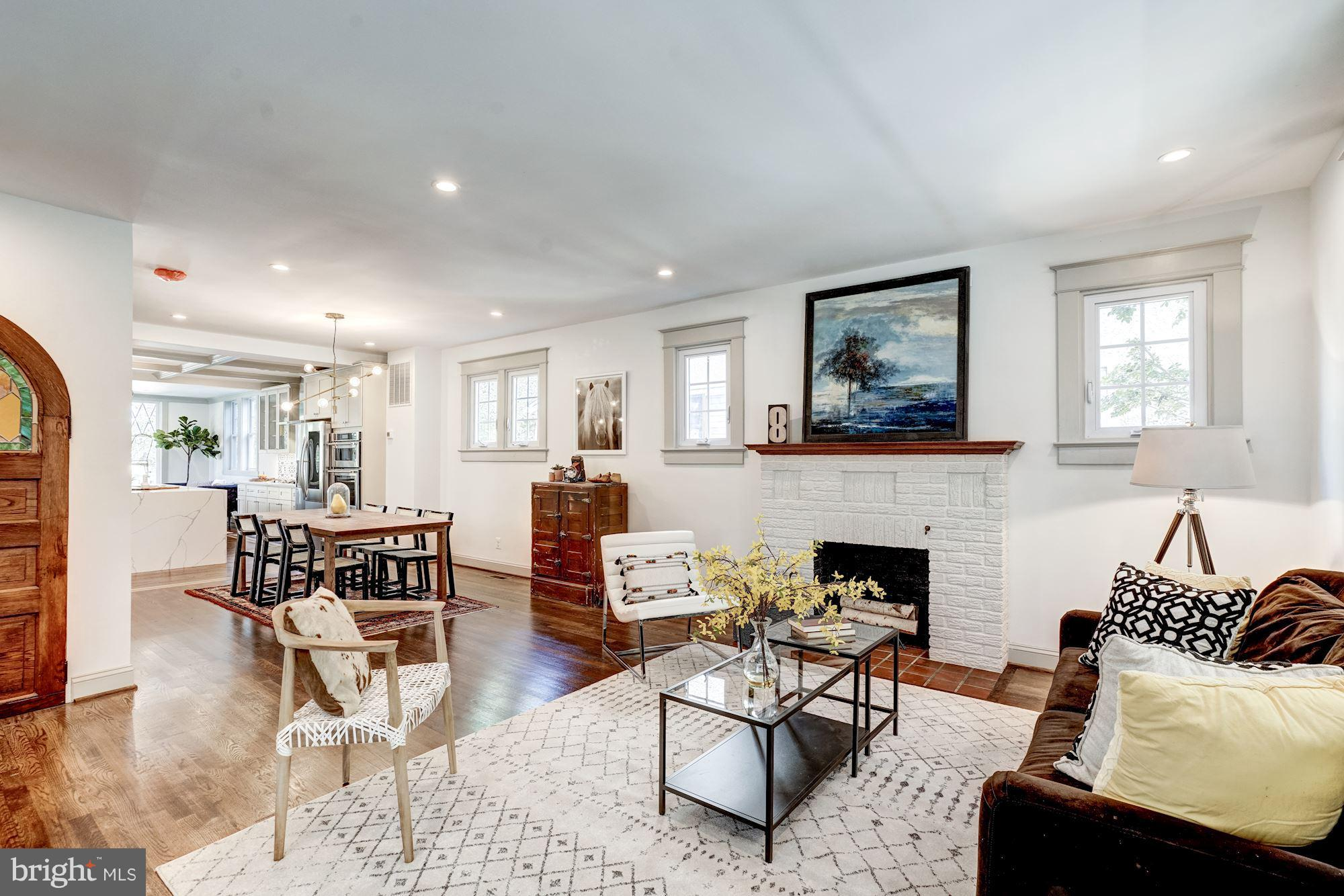 Urban Farmhouse-Expanded and renovated, almost 4000 sq ft-a new house! Four levels of city sophistic