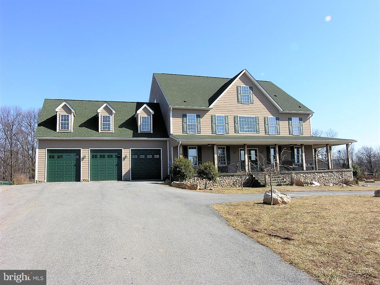 Custom built colonial on over 34 acres protected by the Appalachian Trail w/over 8000 finished sq.ft