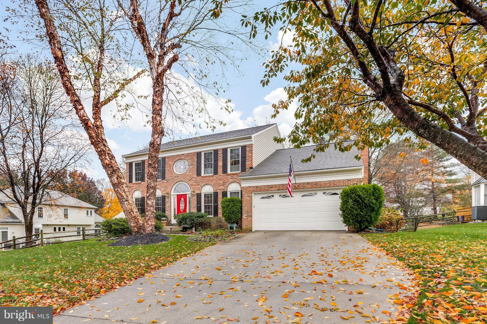 Meticulously Maintained  By Original Owners! Brick Front Colonial w/ Upgraded Kit & Baths! Main Lvl