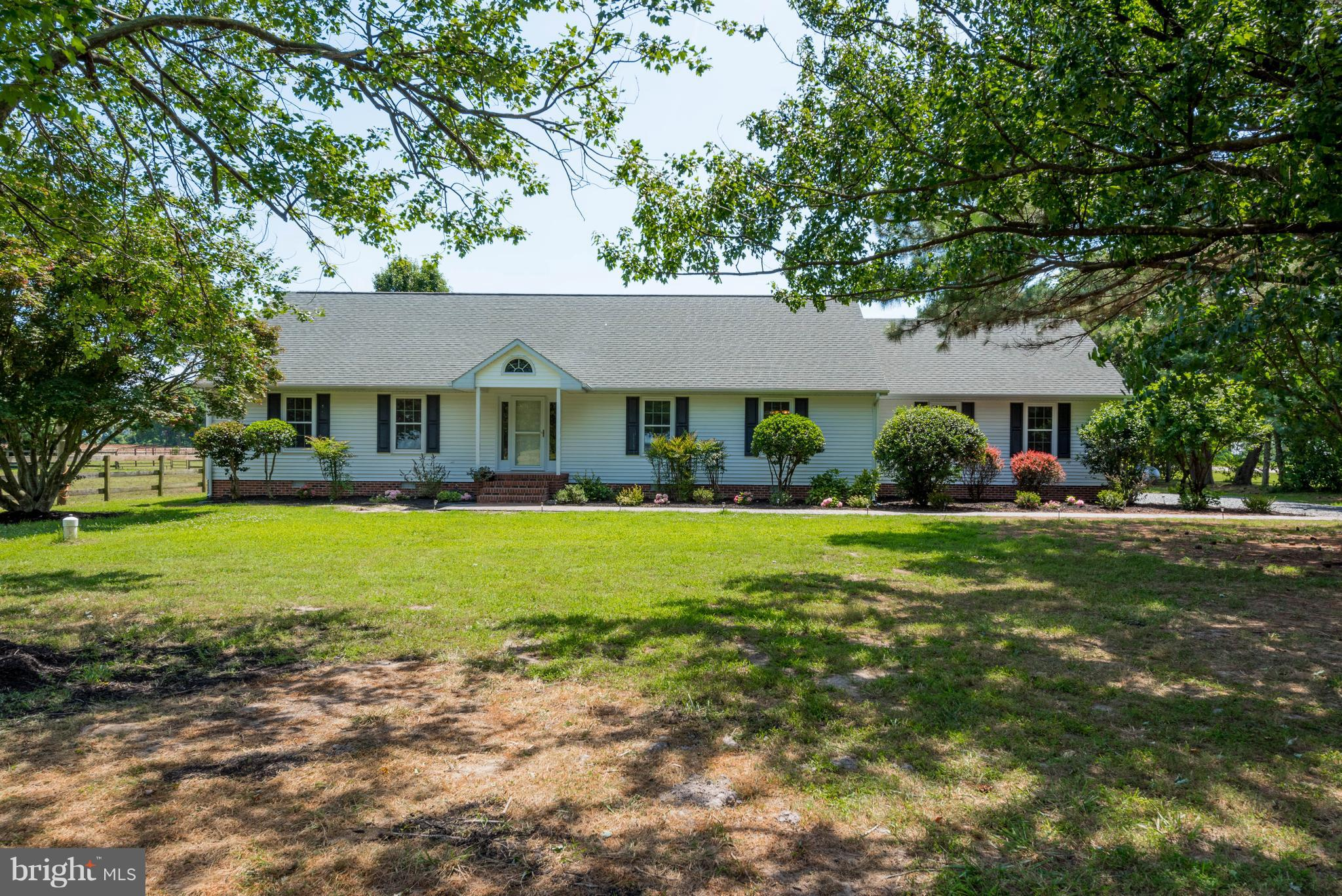 ~WELCOME HOME  to this wonderful 12 acre farm with a custom built 3400 + sq. ft. ranch style home.