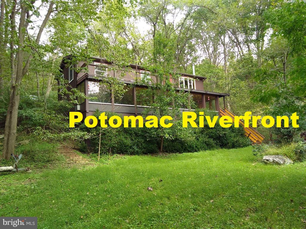 Must see 3D tour: 29Dance.info. Southern exposure on 200' of Potomac River and C&O National Park. En