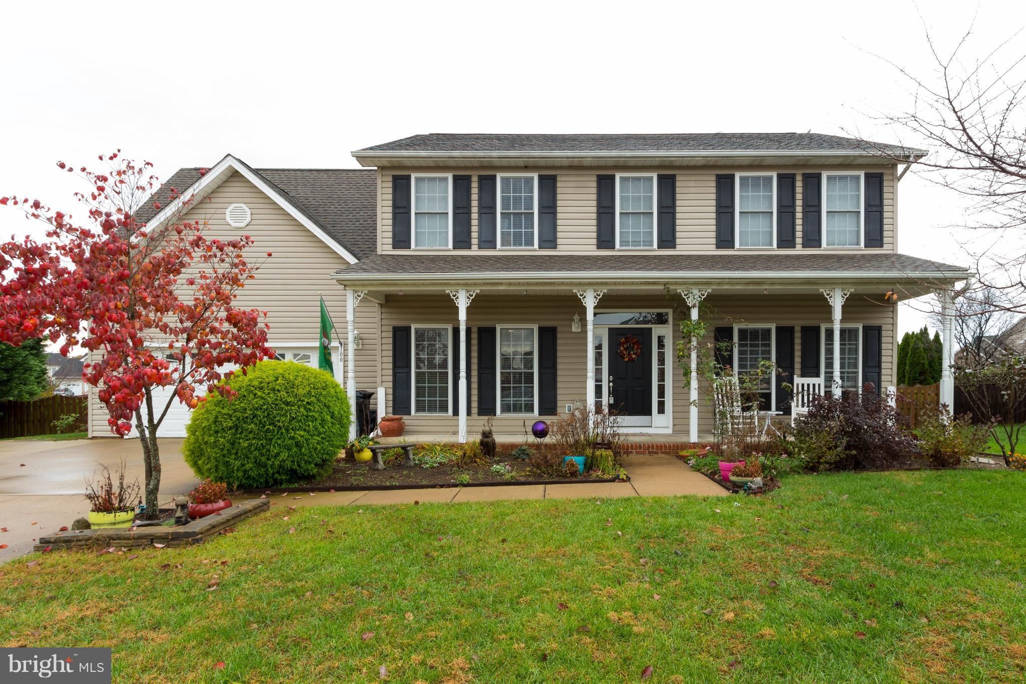 Lovely colonial located on quiet cul de sac. 4 bed 4 ~ bath home features gleaming hardwood floors,