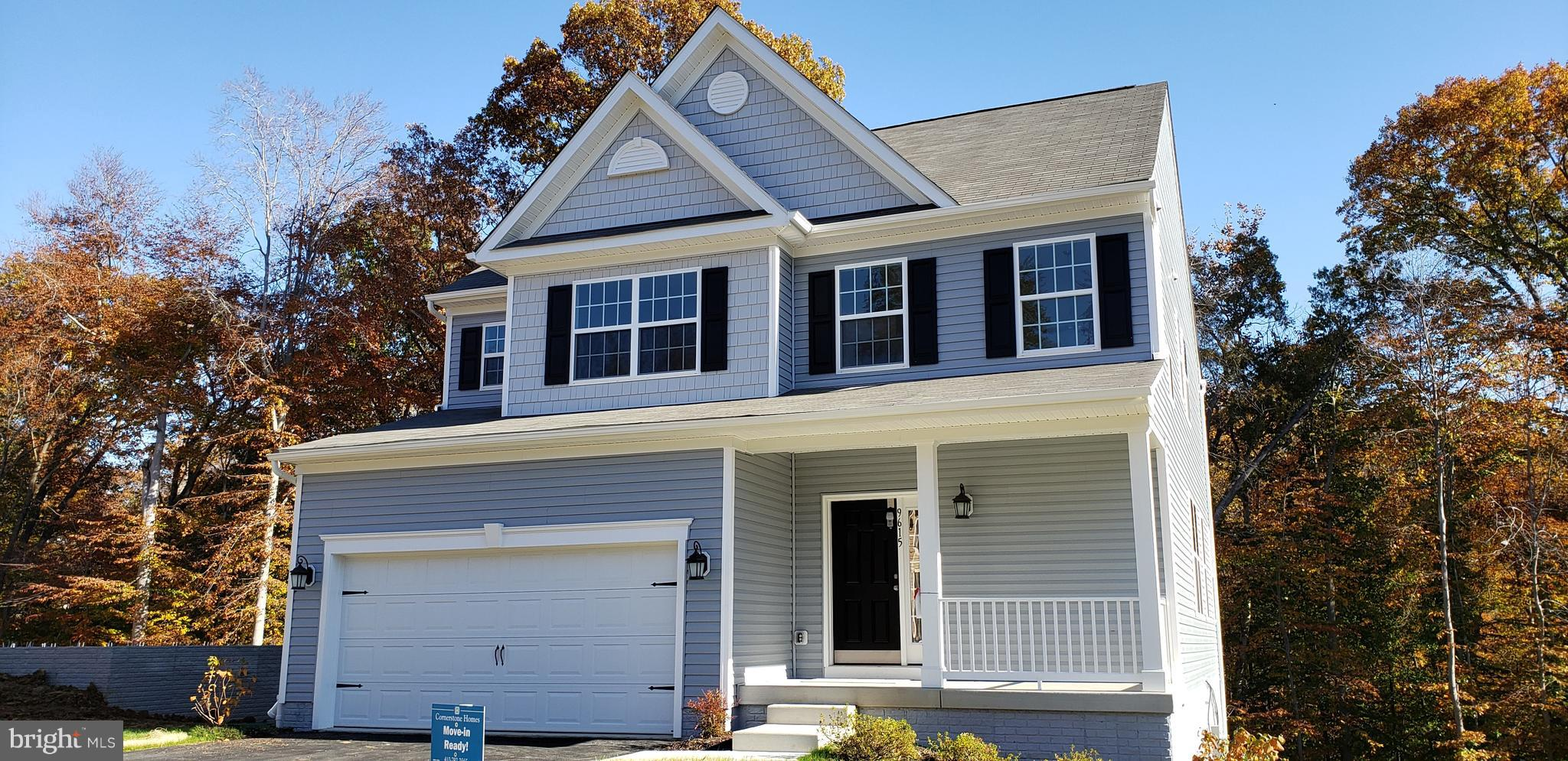 Brand new home ready for immediate settlement. Come visit Cornerstone Homes Southern Howard County p