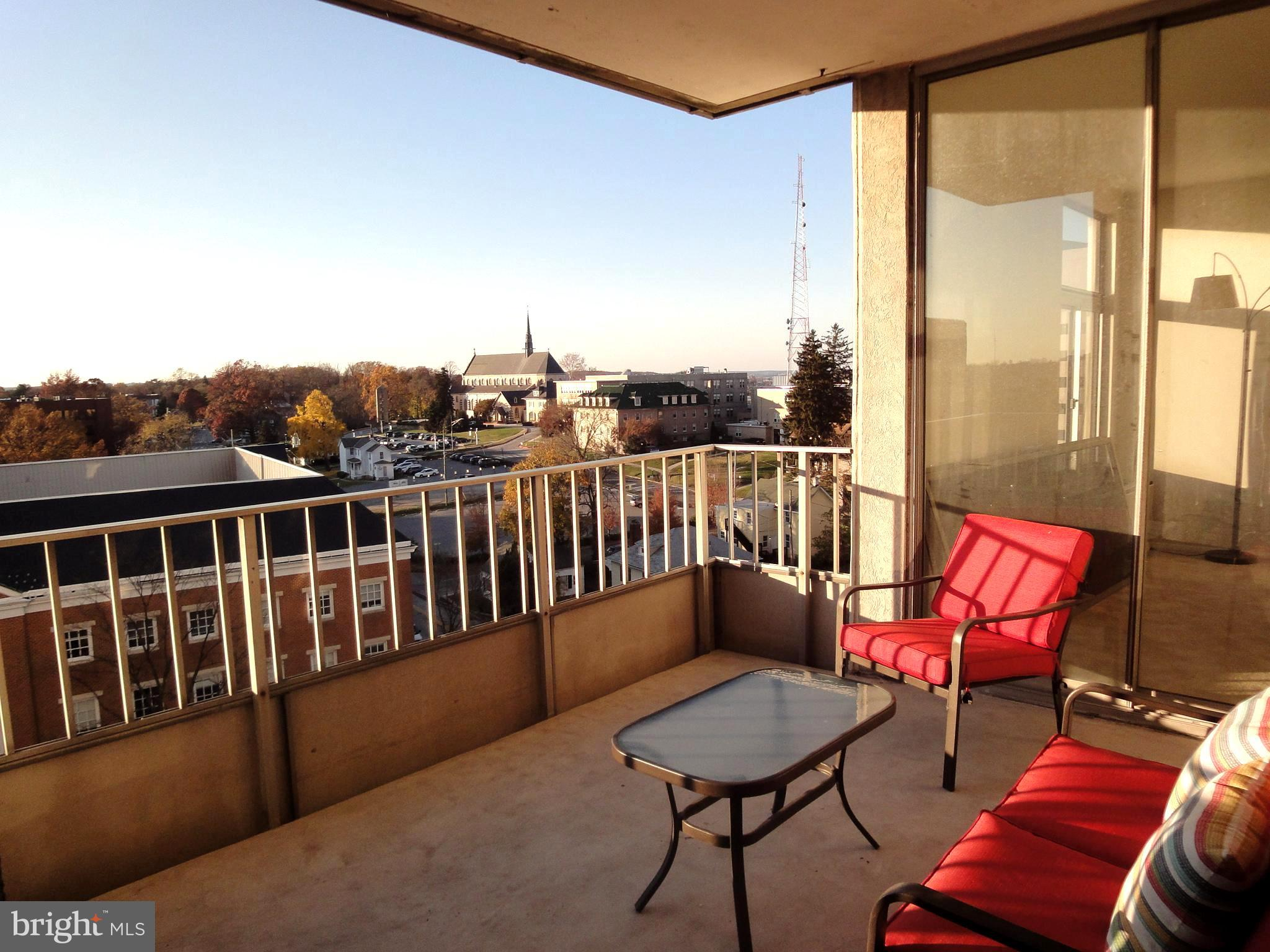 Relax and entertain on your huge private 9 ft. x 11ft balcony.  Sunsets await you.  This 2 bedroom 2