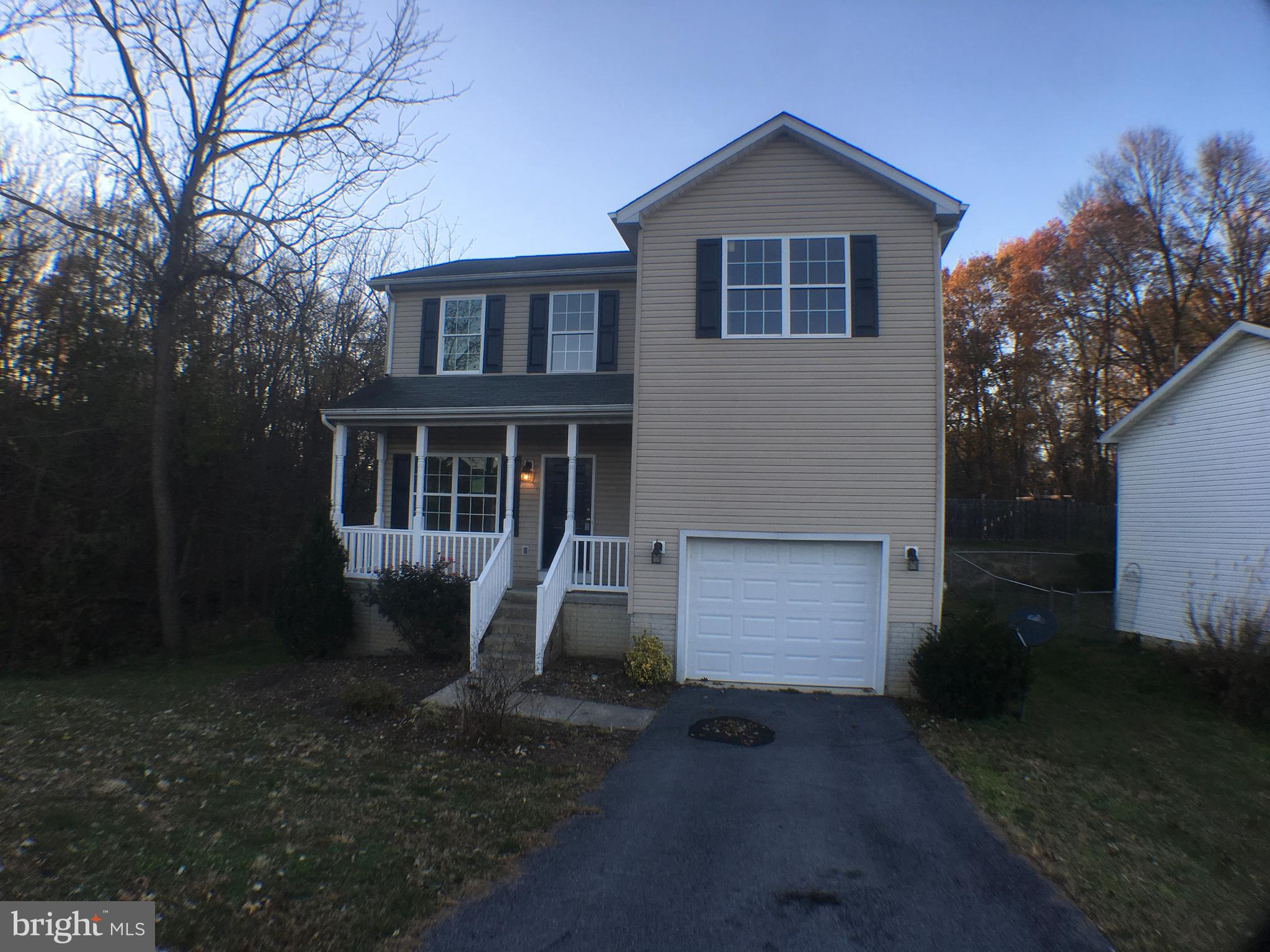 Great location! Colonial style home, newly refinished, close to Eagle School, main roads, shopping a
