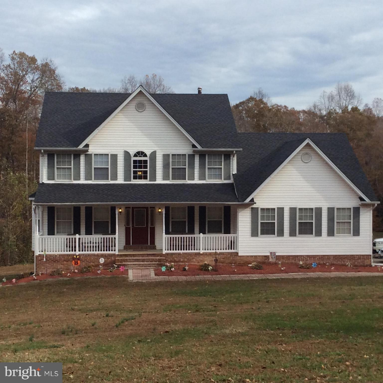 Beautiful large home on an amazing 3 acre lot.  This gorgeous home has 3 finished levels with lots &