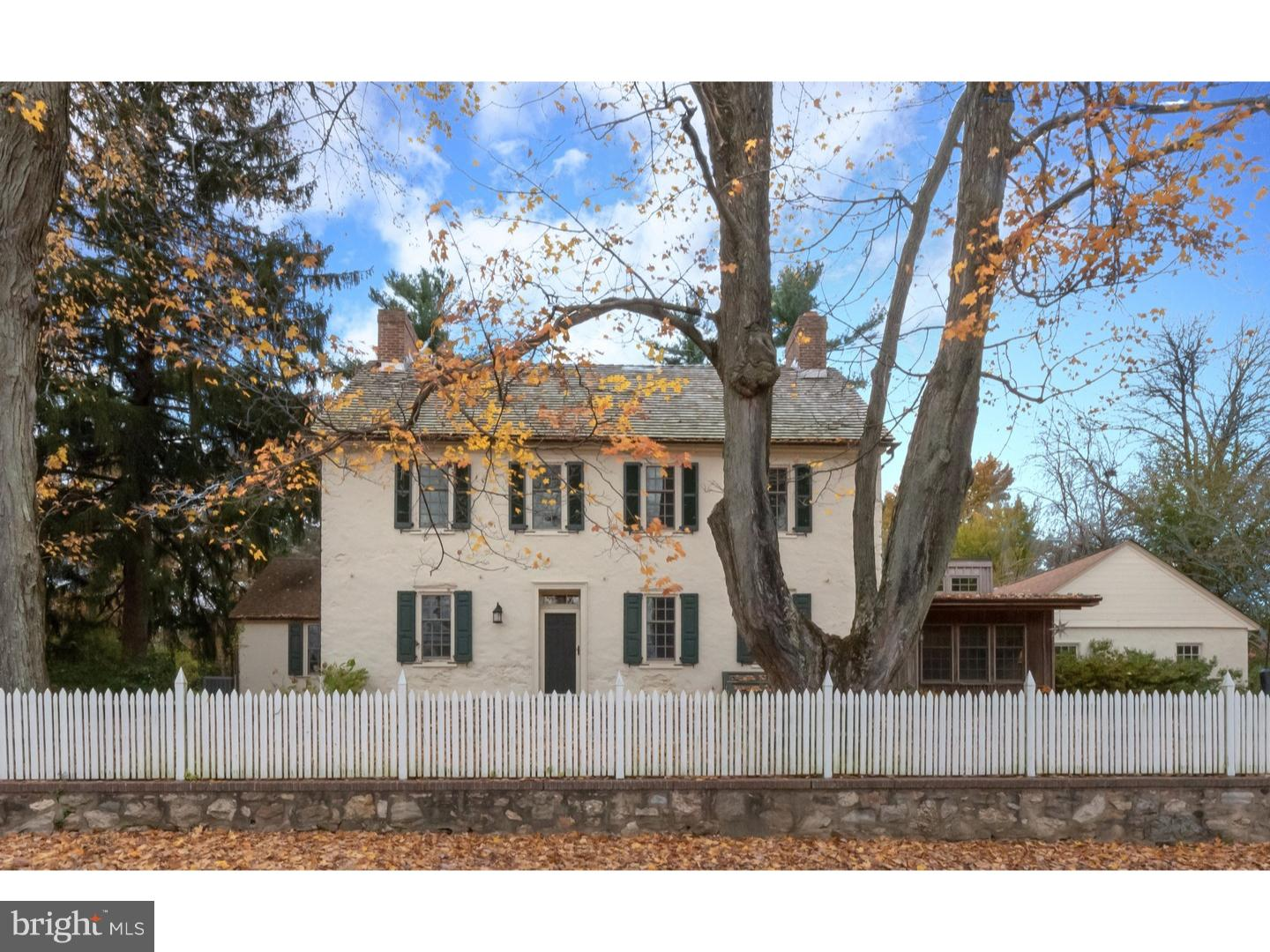 With its rich past, this completely renovated and enhanced historic Hockessin property is the perfec