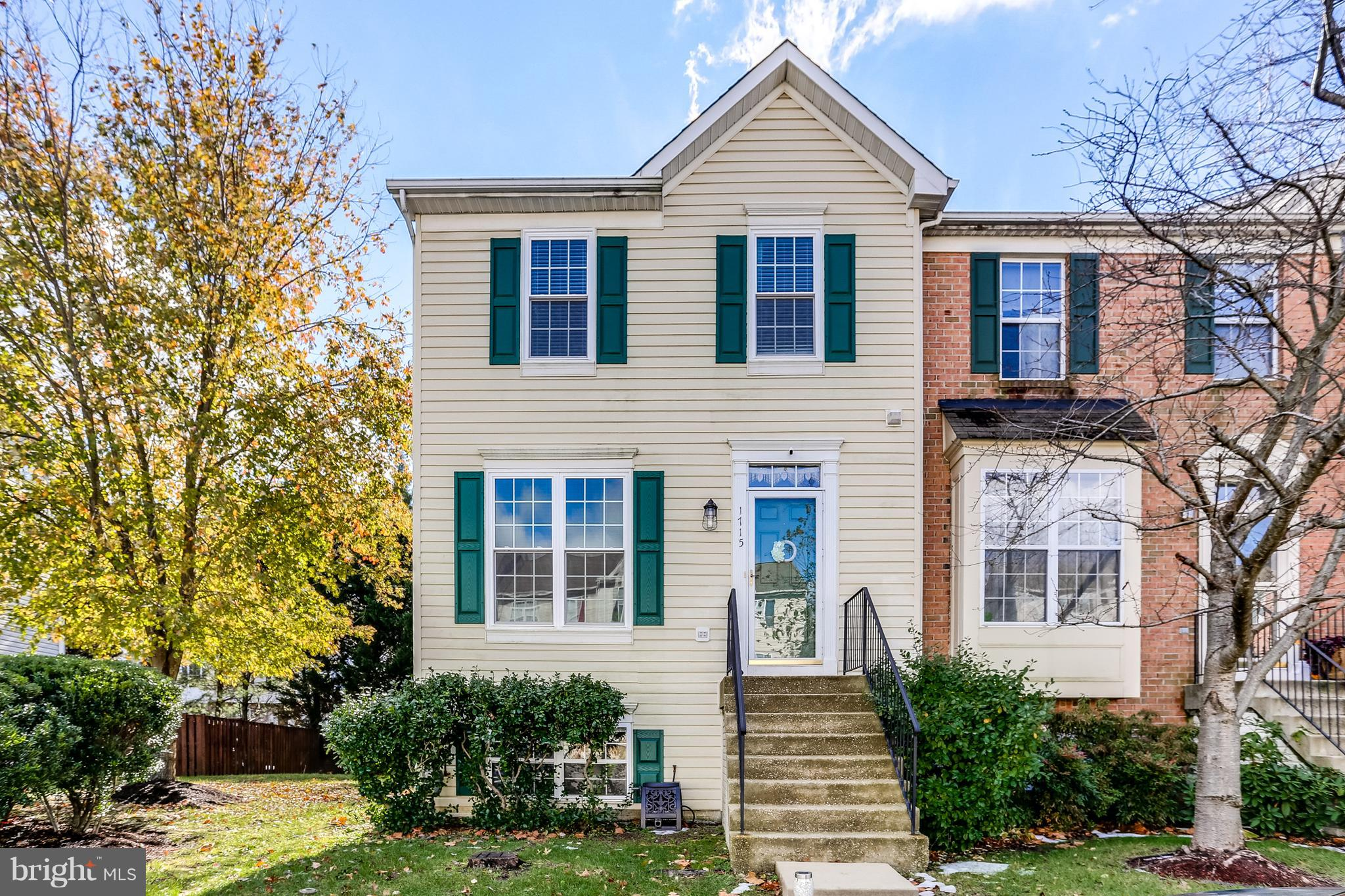 A Must See in a well sought neighborhood of Severn. This light and bright end unit townhouse has bum