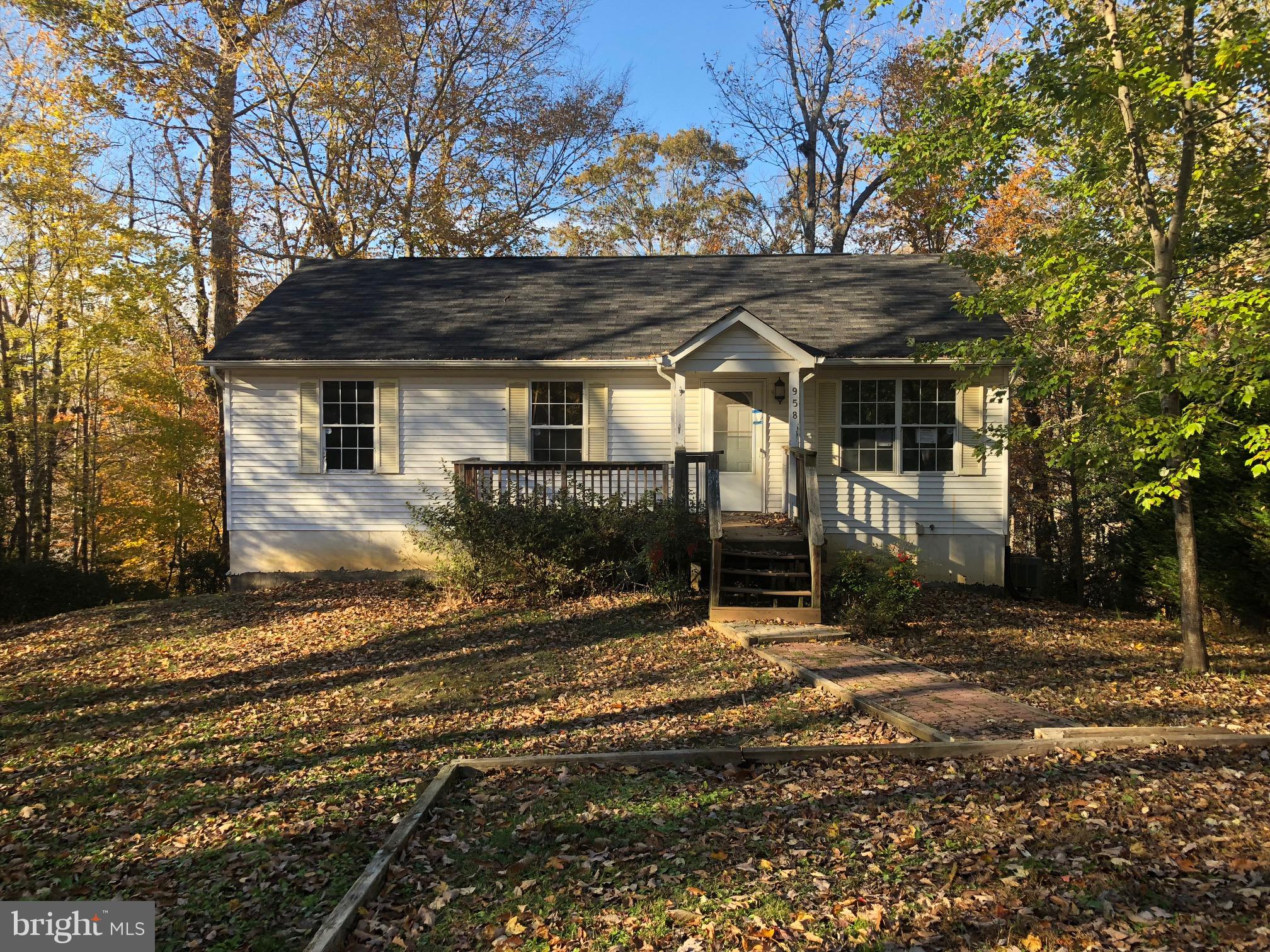 This one level home with a full  basement is situated in a popular community! The Chesapeake Ranch E