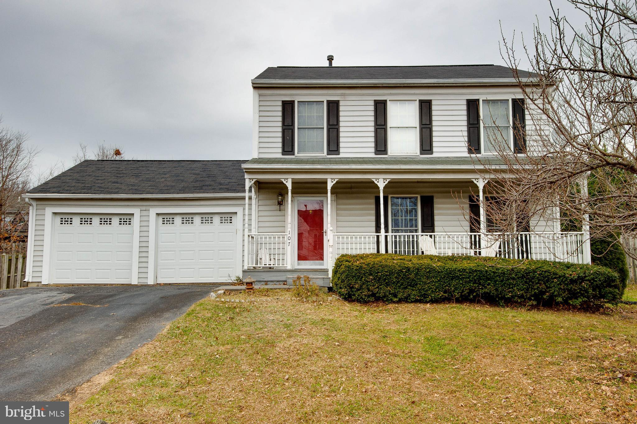 Newly updated colonial in perfect location. Minutes from Route 7, 50, and I81. This lovely home feat