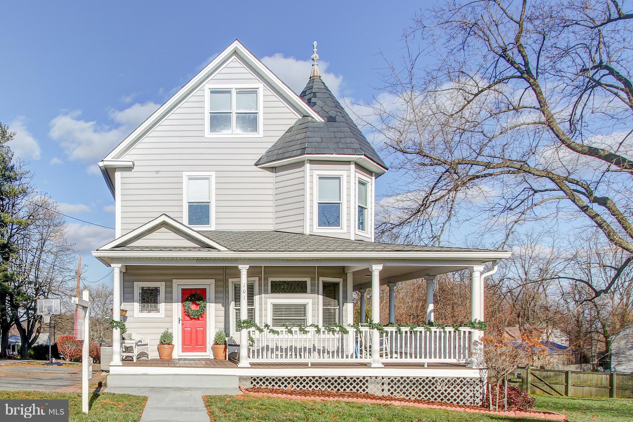 CHARM CHARM CHARM! 1900's  Unique and renovated Victorian in the heart of downtown Mt. Airy! Updates